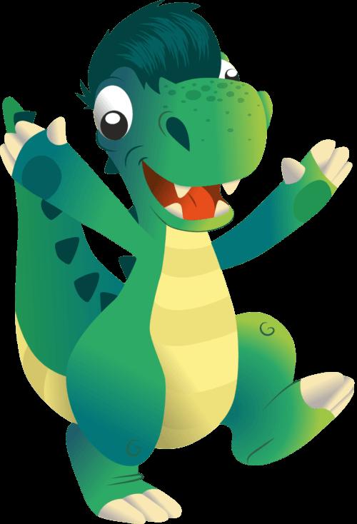 Dino, la mascotte de votre parc de jeux 44
