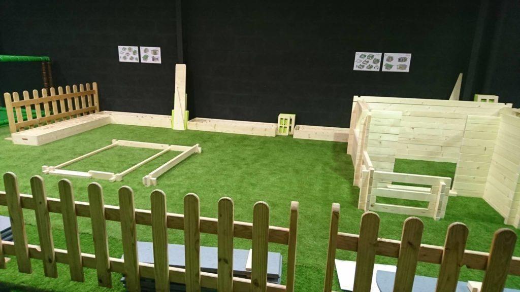 Montage de cabane dans votre parc pour enfant